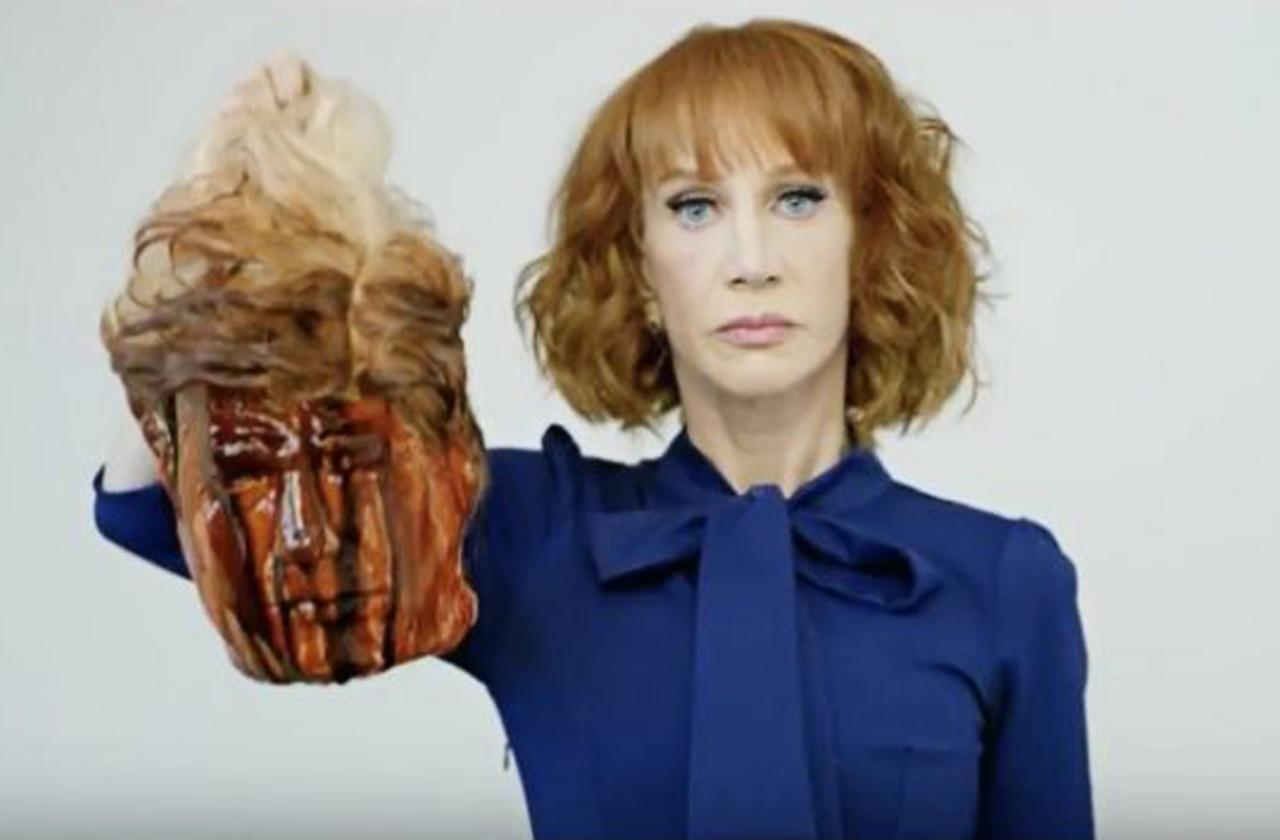 Kathy Griffin Posts Bloody Donald Trump Photo, Internet Goes Crazy