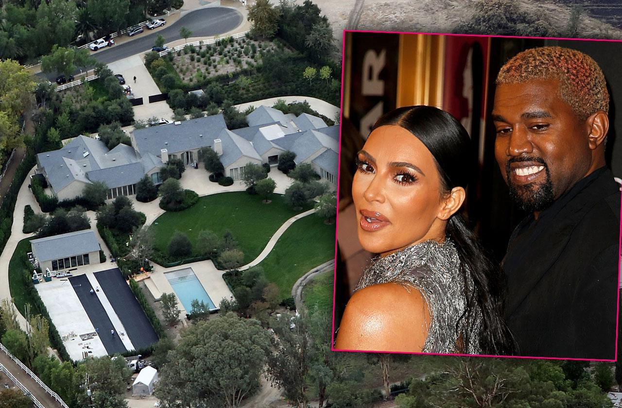 Kim Kardashian And Kanye West Increase Hidden Hills Compound