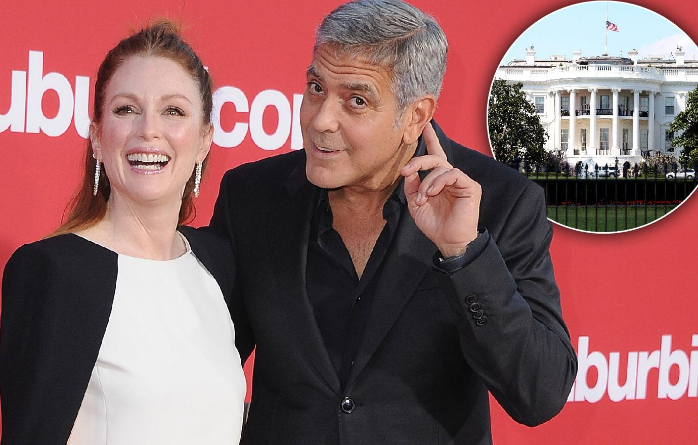 Julianne Moore Does Not Want George Clooney To Be President