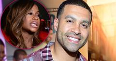 Apollo Nida Released Prison Closeup Smiling With Inset of Phaedra Parks Upset