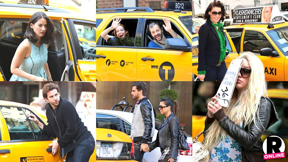 //celebrities tip nyc taxi drivers gawker photos pp sl