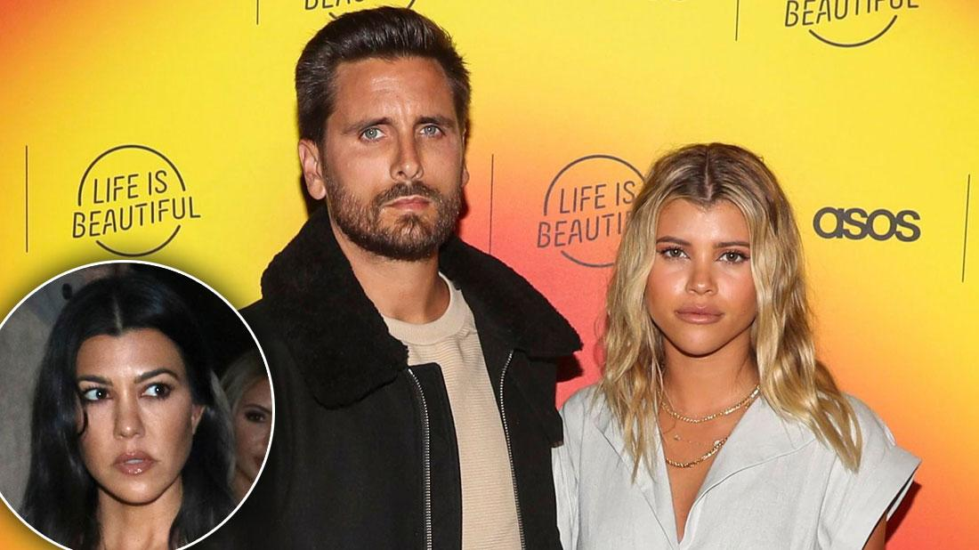 Sofia Richie & Scott Disick Ditch Kardashians With NY Move