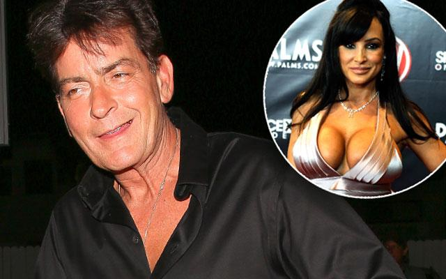 //charlie sheen hiv positive lisa ann pp