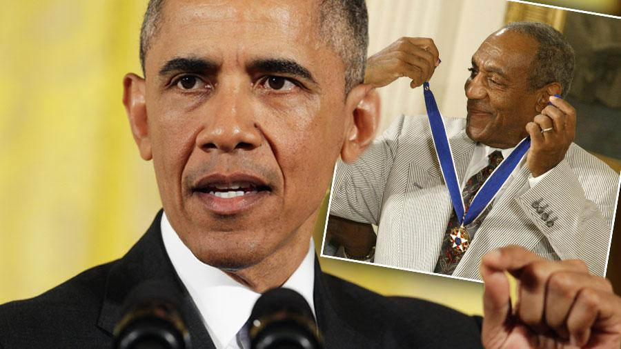 President Obama Defines Rape But Will Not Revoke Cosby Medal Of Freedom