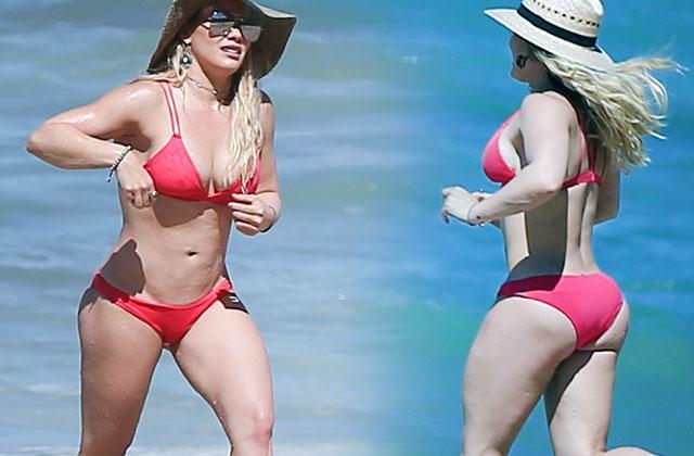 Hilary Duff Naked Bikini Body Mexico Pics