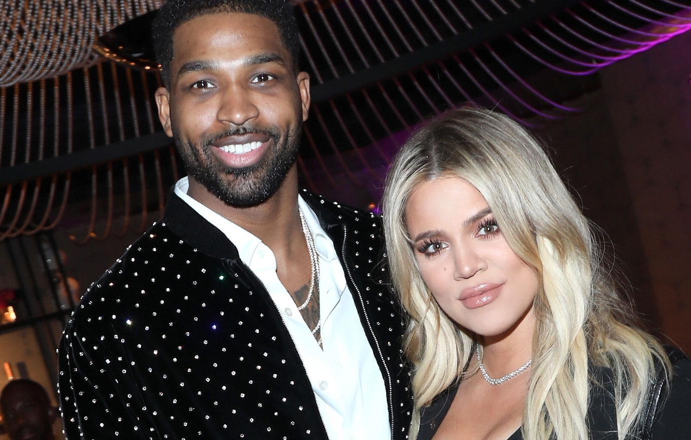 Khloe Kardashian Spends Thanksgiving With Cheating Tristan Thompson