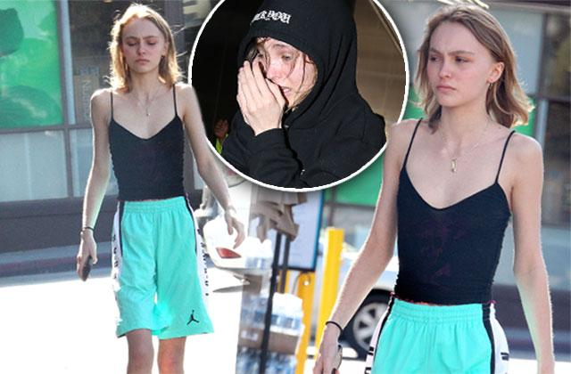 Lily Rose Depp Scary Skinny Weight Arms