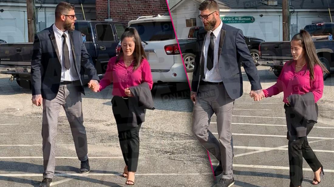Jenelle Evans & David Eason In Court