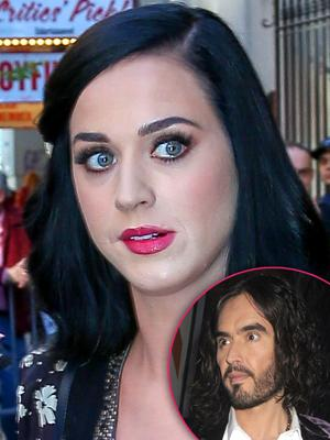 //katy perry text russell