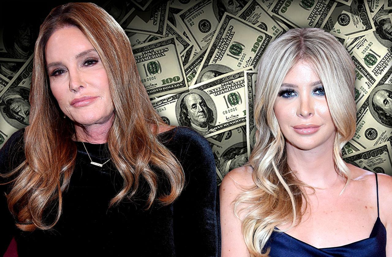 //caitlyn jenner money gift sophia hutchins pp