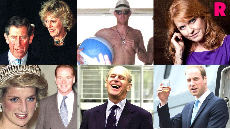 royal family secrets scandals