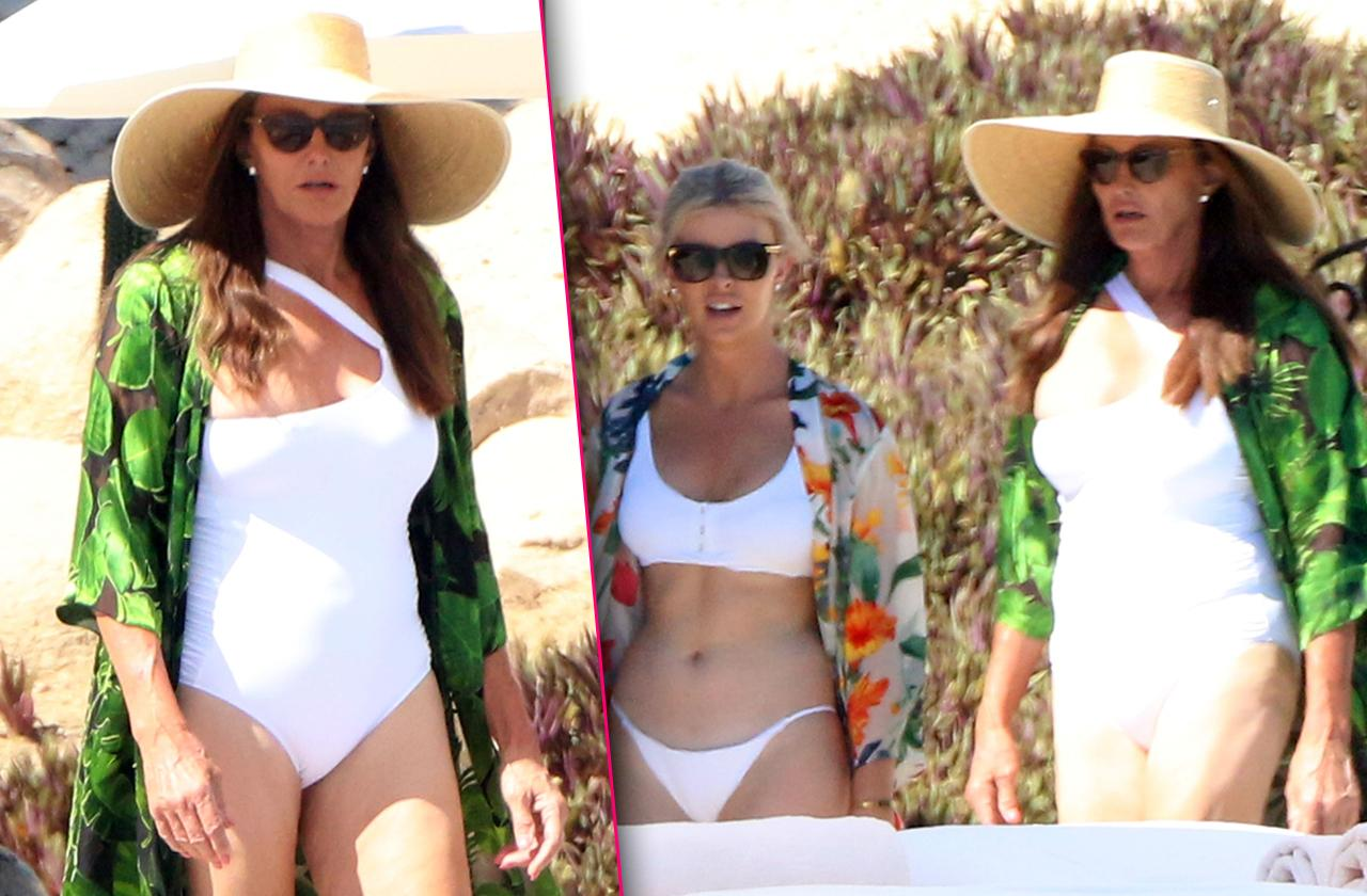Caitlyn Jenner Celebrates Birthday In Mexico With Sophia Hutchins