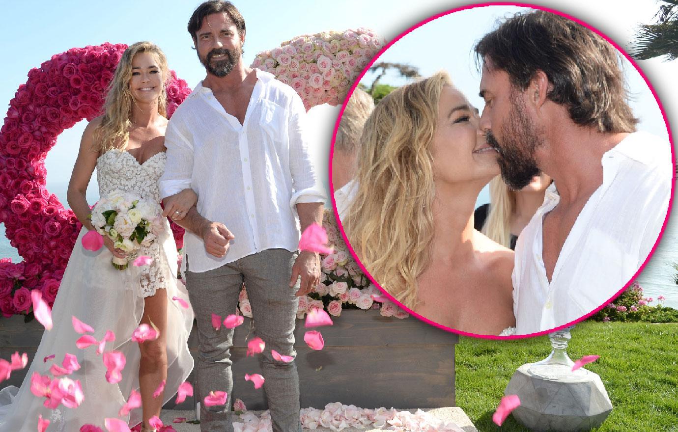 Denise Richards Aaron Phypers Get Married Malibu Wedding