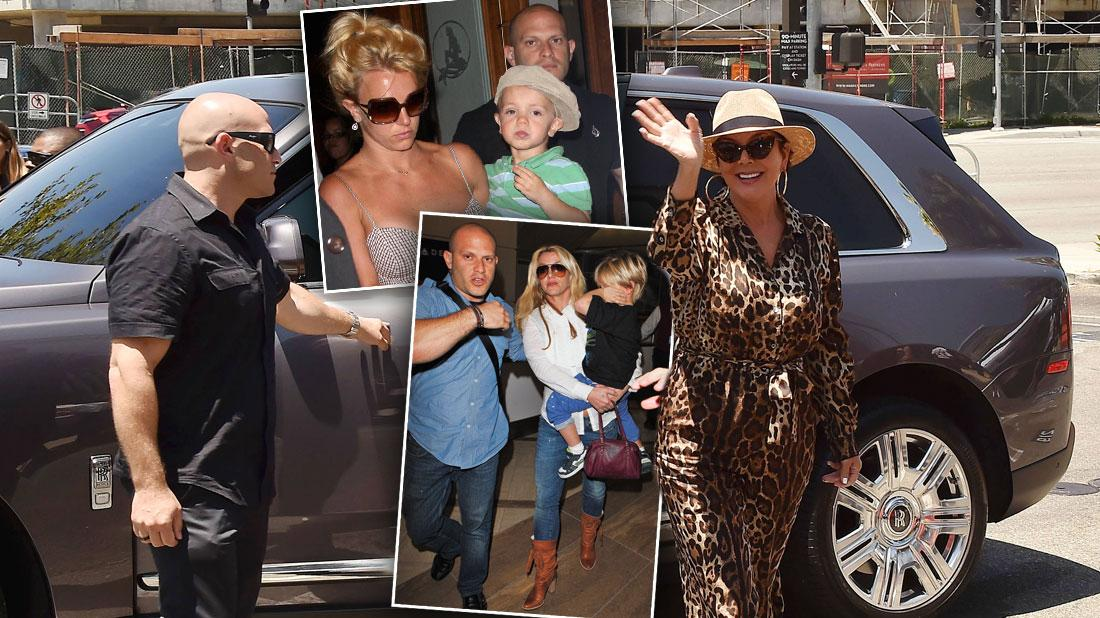 Britney Snubbed! Spears' Longtime Bodyguard Ditches Singer For The Kardashians