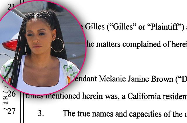//Mel b lawsuit threesome claims pp