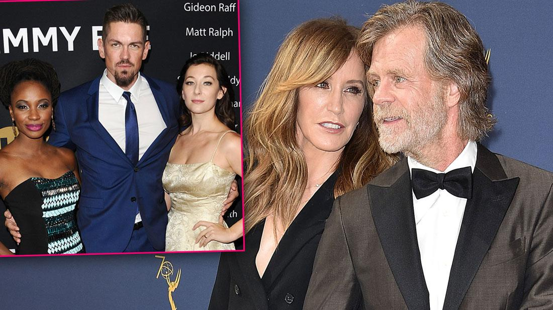 Shameless Costars Support William H. Macy and Felicity Huffman Amid College Scandal