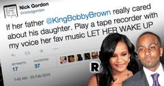 Bobbi Kristina Brown Nick Gordon Pleads