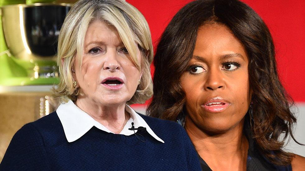 //martha stewart and michelle obama pp