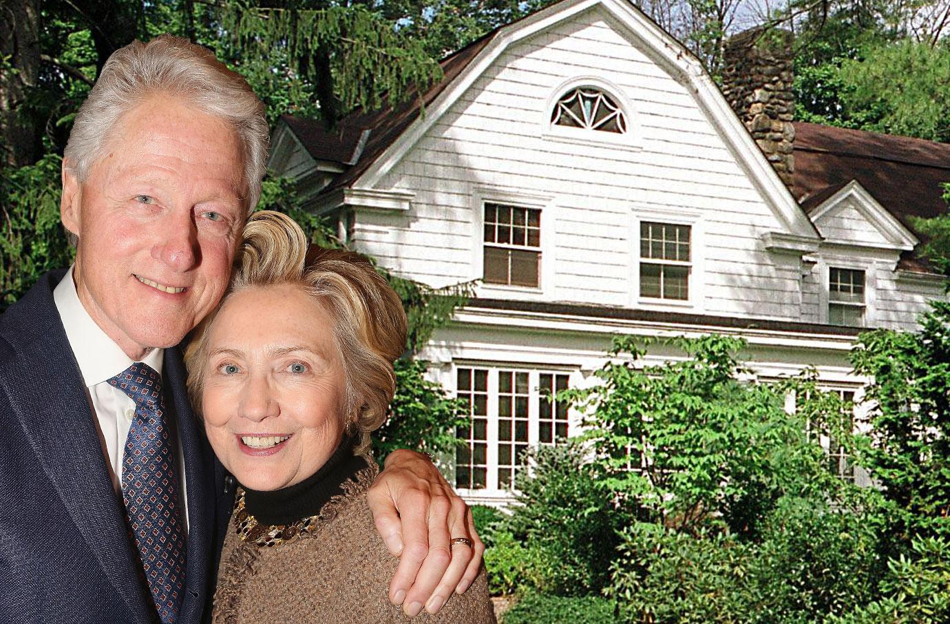 Bill Clinton and Hillary Clinton Watch Hill Rhode Island Real Estate