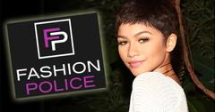 //zendaya coleman fashion police audition