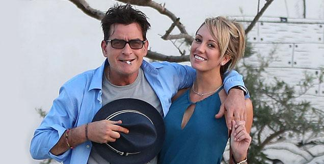 //charlie sheen brett rossi legally divorced