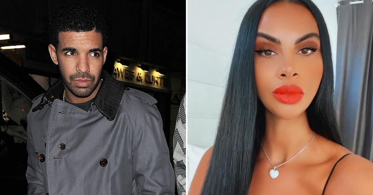 drake ex johanna leia seen for first time rapper ended fling moved on r