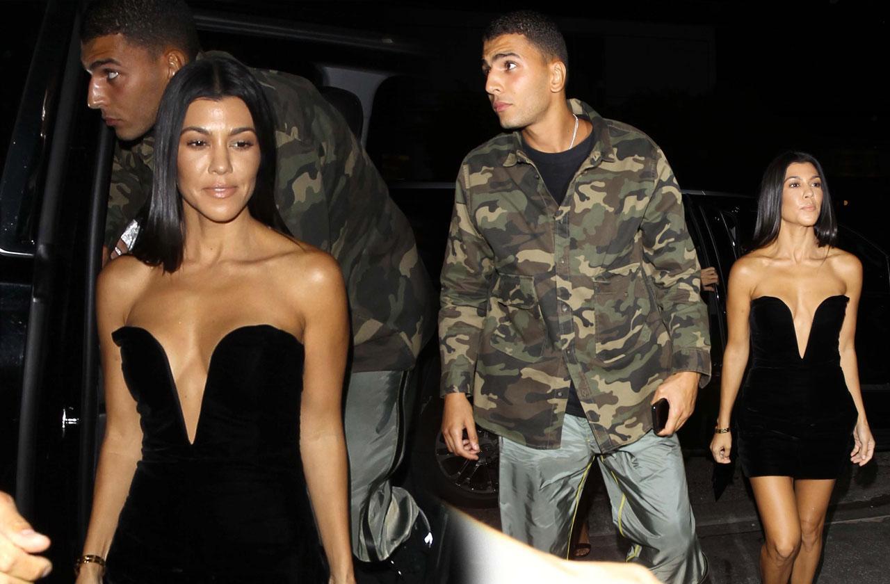 Kourtney Kardashian Younes Bendjima Club Date Cheating