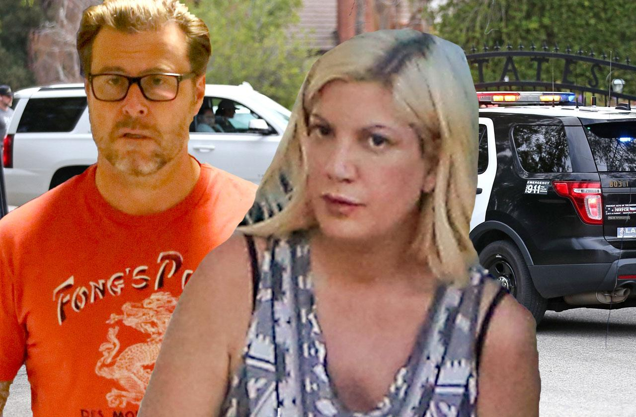 //tori spelling dean mcdermott cops called again pp