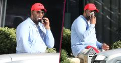 R. Kelly Relaxes With Cigar Amid Growing Sexual Abuse Claims