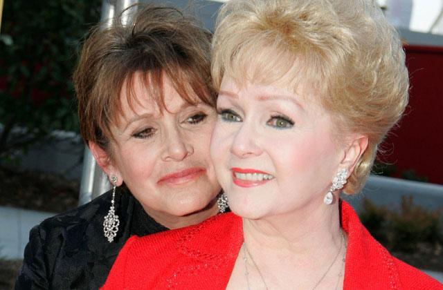 Debbie Reynolds Carrie Fisher Dead Double Memorial