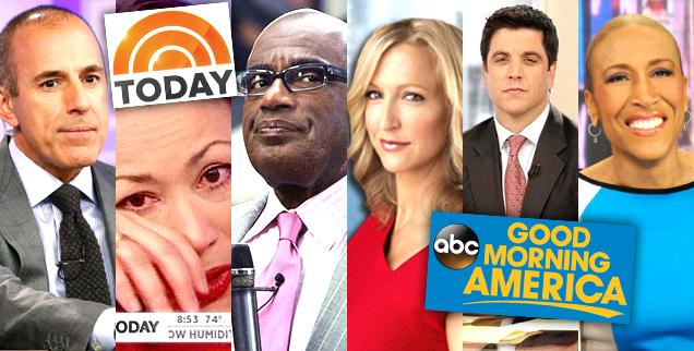 //today gma the biggest scandals of the morning show wars wide