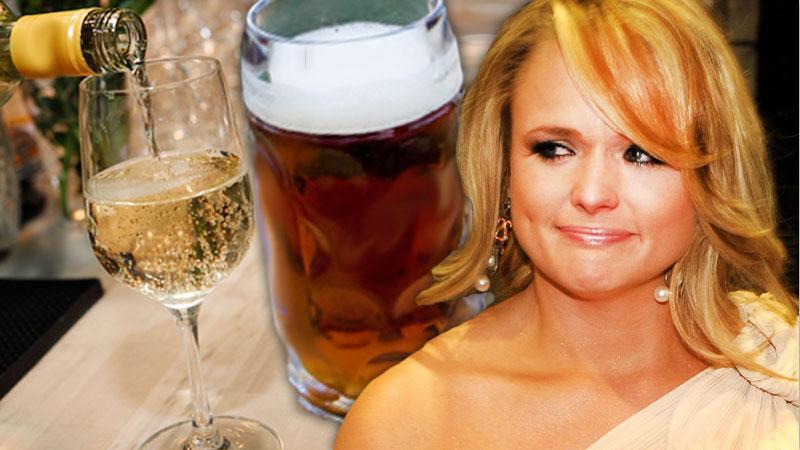 Miranda Lambert Crying, Drinking Post Split