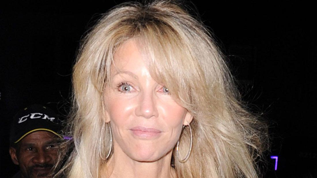Heather Locklear Checks Back Into Rehab To Avoid Jail Time After Battery Case