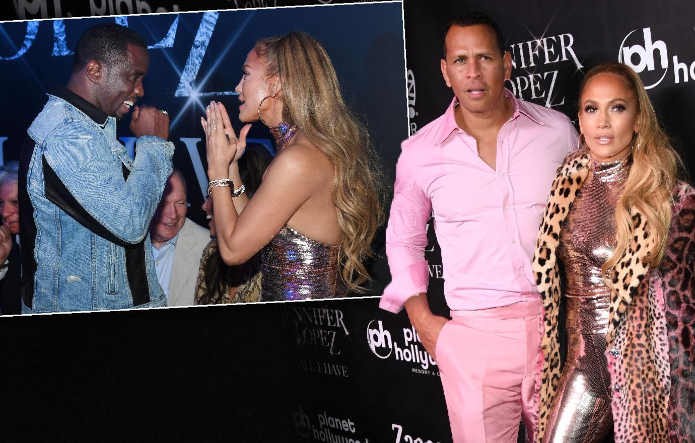 Jennifer Lopez Serenades former Boyfriend Diddy