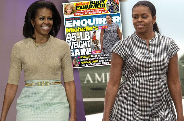 michelle obama weight gain