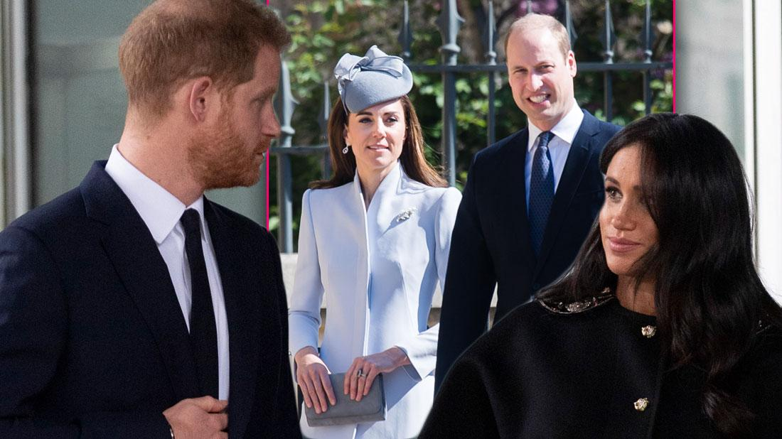 William & Kate Congratulate Meghan & Harry On Baby Amid Feud