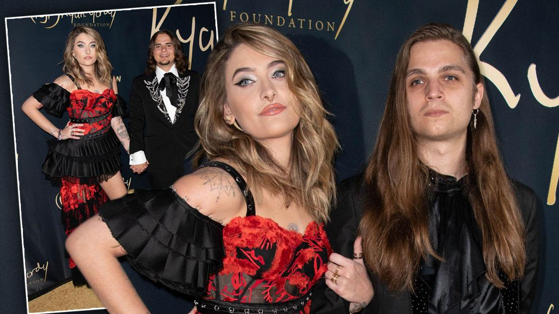 Paris Jackson Wears Sexy Red Dress To Event With Boyfriend