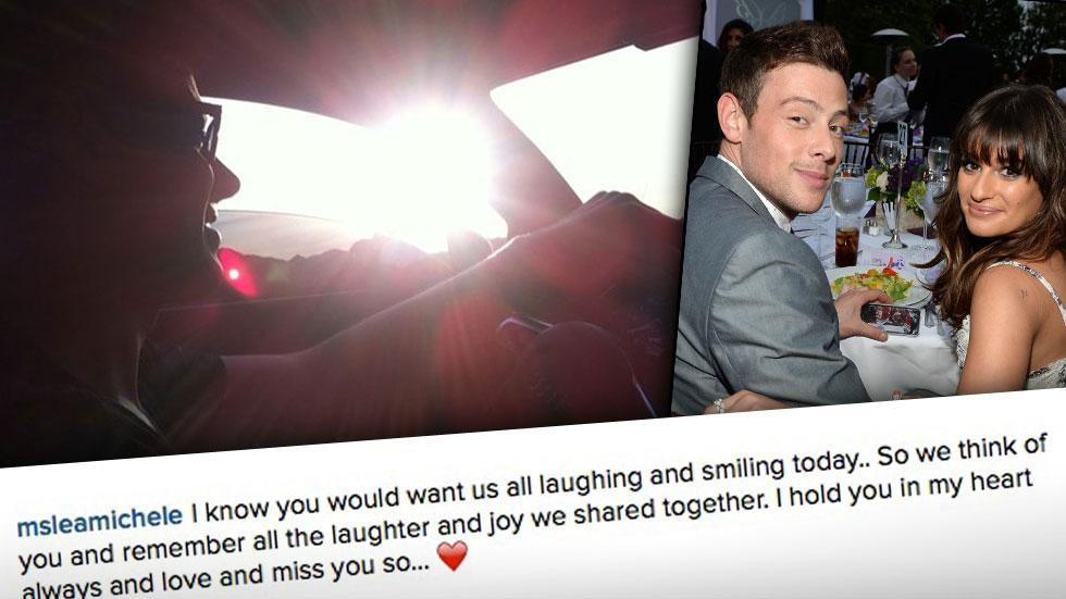 Lea Michele Remembers Corey Monteith On Second Anniversary Of His Death