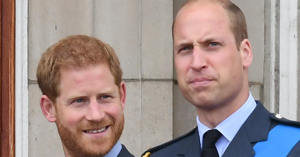 prince harry interview prince william upset