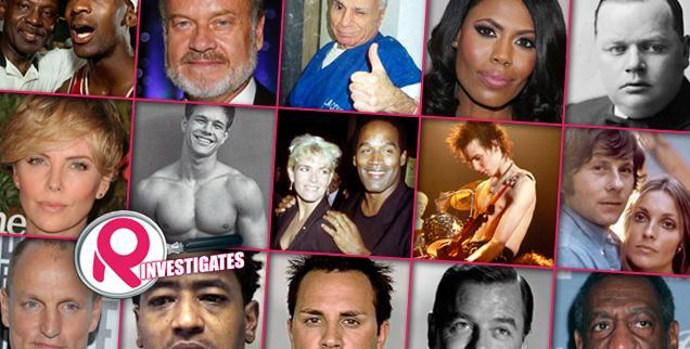 // celebrities linked to violent deaths slideshow photo wide