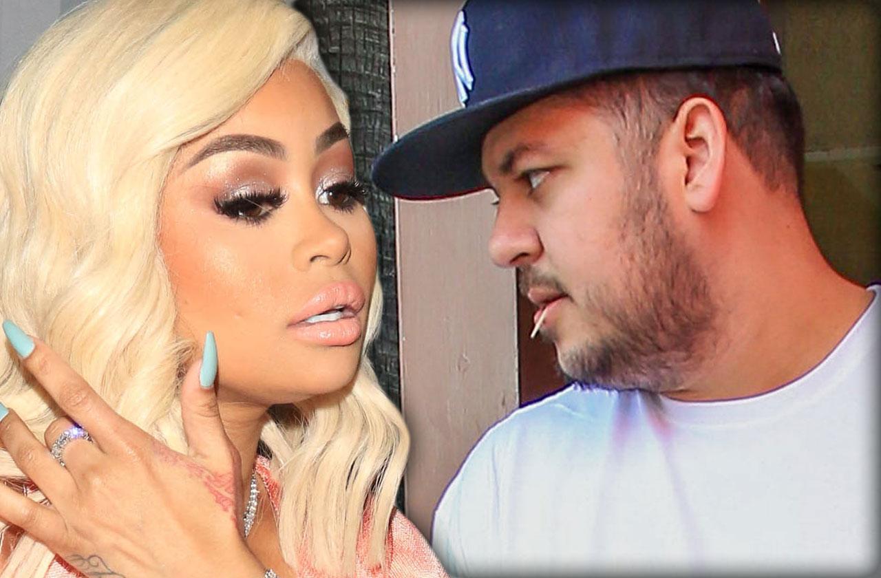 Blac Chyna Rob Kardashian Fight Dream Hawaii