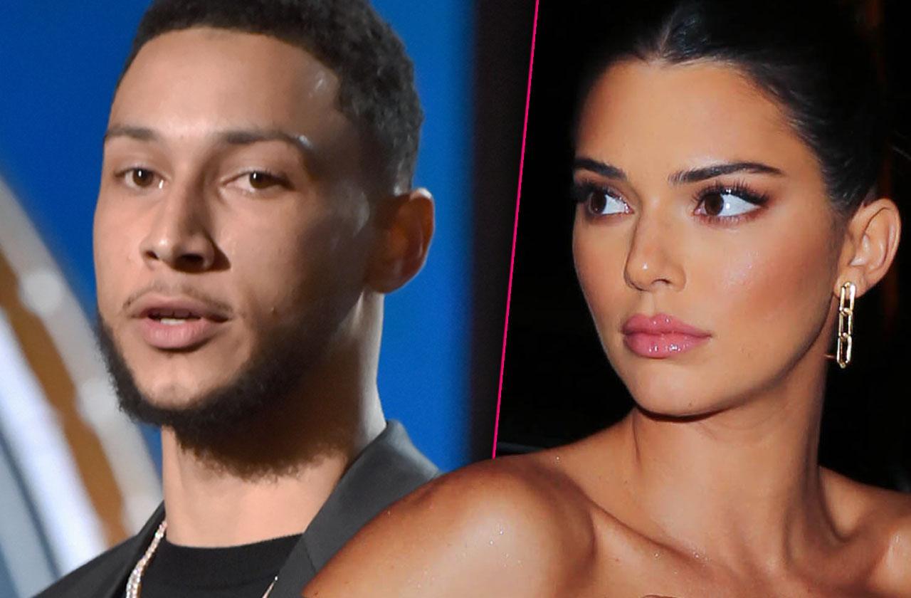 Kendall Jenner Ben Simmons Split