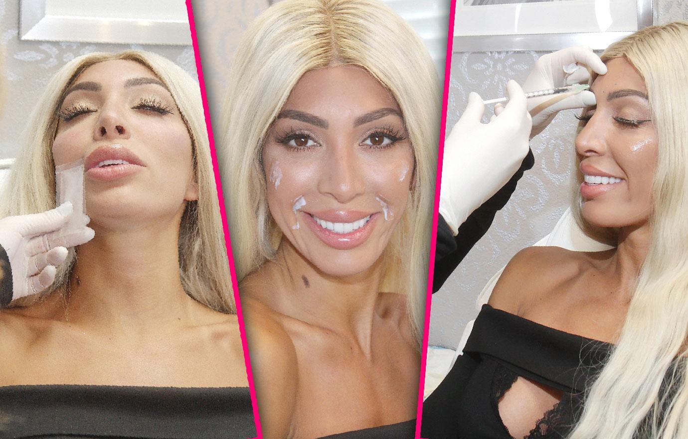 Farrah Abraham Gets More Plastic Surgery Botox Cheek Fillers
