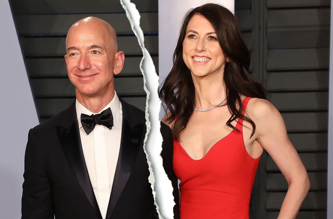 Jeff Bezos messy divorce from Mackenzie