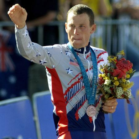 //lance armstrong bronze getty