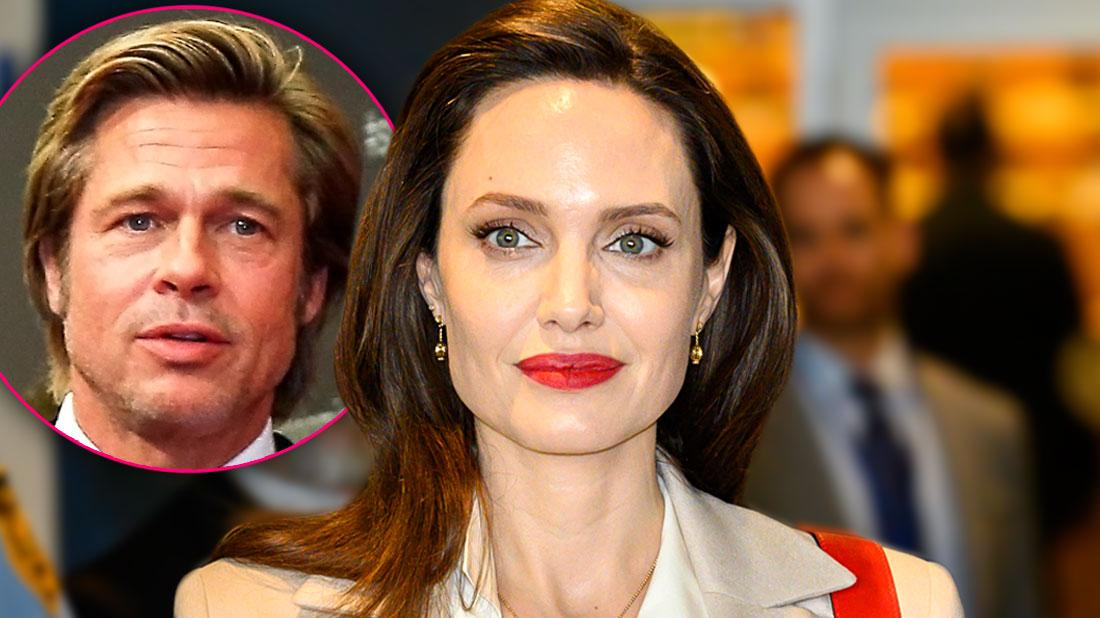 Angelina Jolie Drops Brad's Hyphened Last Name As Messy Divorce Drags On