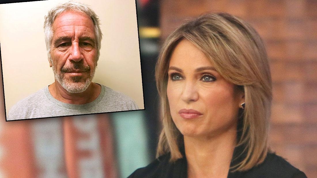 GMA's Amy Robach Claims ABC Shut Down Jeffrey Epstein Interview In Leaked Tape
