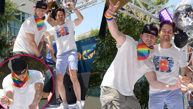 Channing Tatum Gay Pride Parade Photos