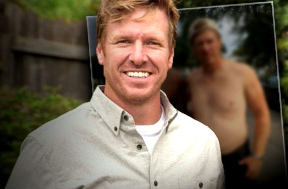 //chip gaines shirtless topless fixer upper filming pp
