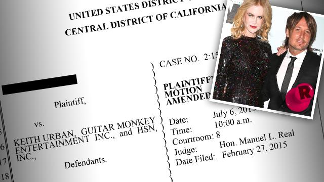 Keith Urban Sued Nicole Kidman
